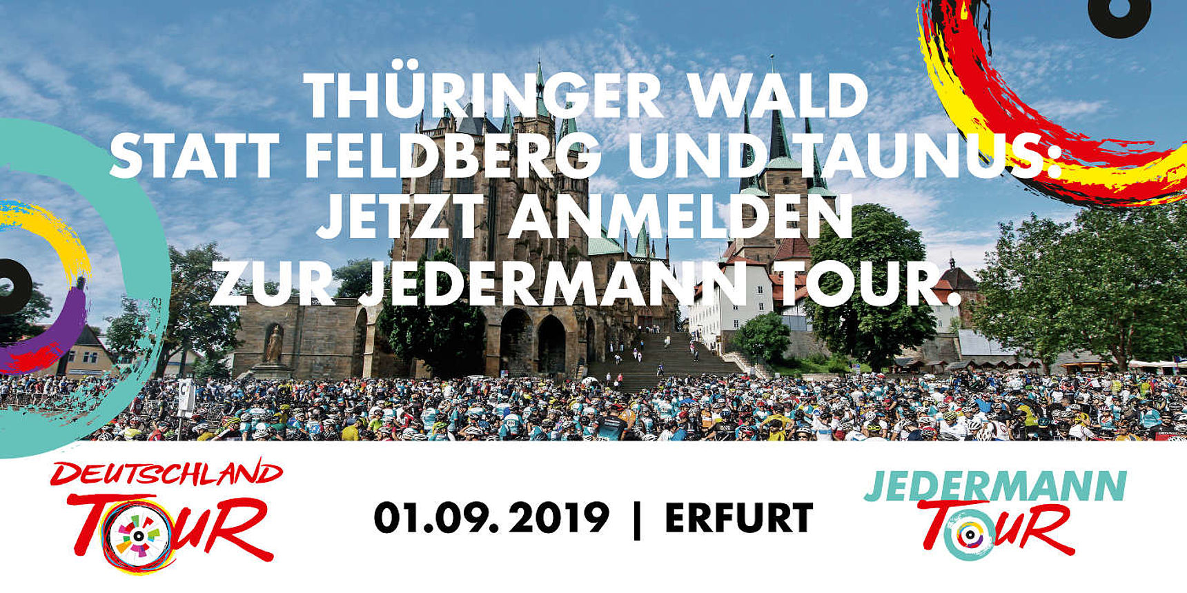 Jedermann Tour Banner
